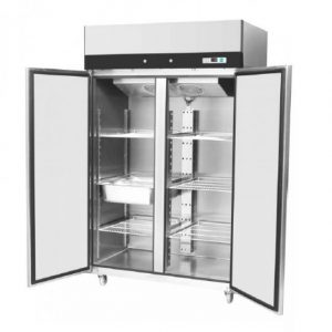 frigider inox dulap frigorific vertical profesional din inox cu doua usi - Dulap frigorific vertical profesional din inox cu doua usi 300x300 - Dulap frigorific vertical profesional din inox cu doua usi