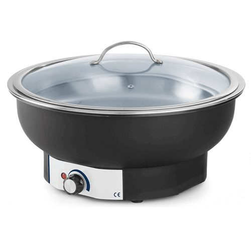 Chafing dish electric rotund