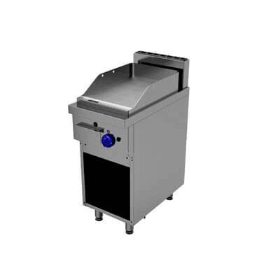 Gratar-grill profesional pe gaz neted