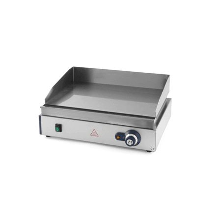 Gratar-grill profesional, electric, din inox, neted