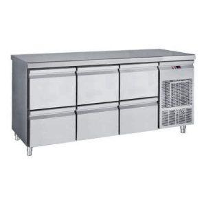 Masa frigorifica, rece, refrigerare cu 6 sertare, inox masa frigorifica - masa frigorifica rece refrigerare cu 6 sertare inox 300x300 - Masa frigorifica, rece, refrigerare cu 6 sertare, inox