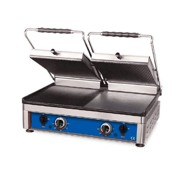 Grill de contact-panini maker-grill toaster-sandwich maker profesional, dublu, electric