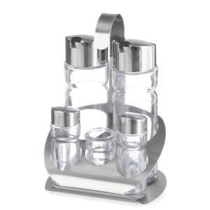 Set recipiente condimente oliviera 5 piese pentru restaurant - set recipiente condimente1 300x300 - Oliviera 5 piese pentru restaurant