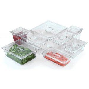 Tava transparenta, GN1/6 din policarbonat tava transparenta, gn1/6 din policarbonat - tava transparenta gn1 3 65 mm din policarbonat1 300x300 - Tava transparenta, GN1/6 din policarbonat