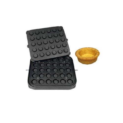 Set 2 placi-matrita coji de tarta-mediu-4.9 cm