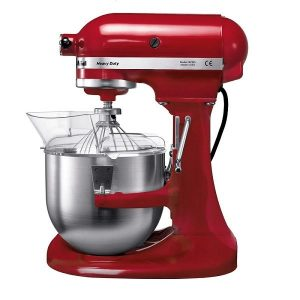 Mixer profesional Kitchen Aid Heavy Duty-Empire Red mixer profesional kitchen aid heavy duty-empire red - KitchenAi heavyduty 4 - Mixer profesional Kitchen Aid Heavy Duty-Empire Red 4.8litri