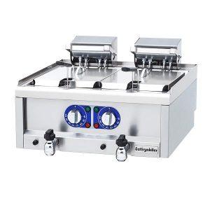 Friteuza profesionala electrica de banc friteuza dubla profesionala electrica de banc - Friteuza profesionala electrica de banc 10 10 litri 300x300 - Friteuza dubla profesionala electrica de banc, 10+10 litri