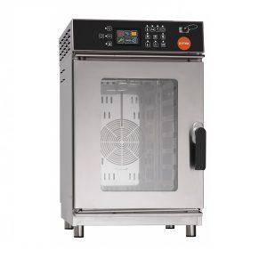Cuptor electric digital compact cu convectie si abur, 7tavi