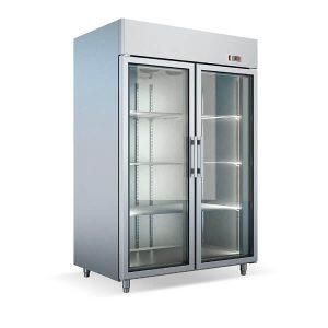 Dulap frigorific patiserie dublu cu usi de sticla echipamente pentru bucatarii profesionale horeca - Dulap frigorific patiserie dublu cu usi de sticla 300x300 - Echipamente pentru bucatarii profesionale HORECA