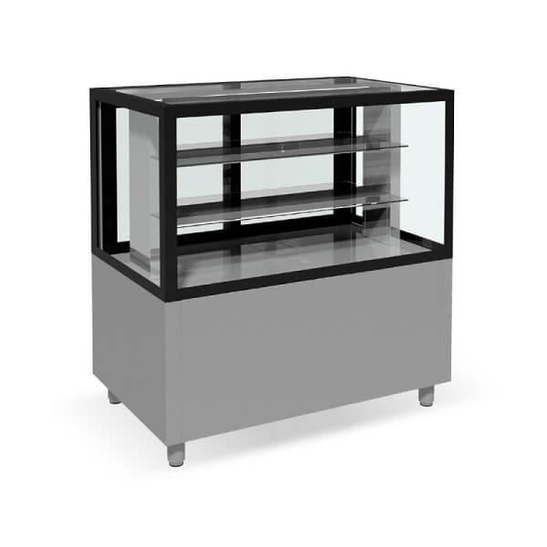 Vitrina calda expunere cofetarie-patiserie-138x70cm